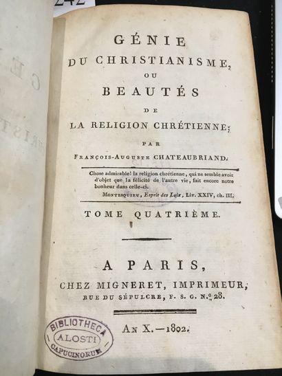 CHATEAUBRIAND (François René de).