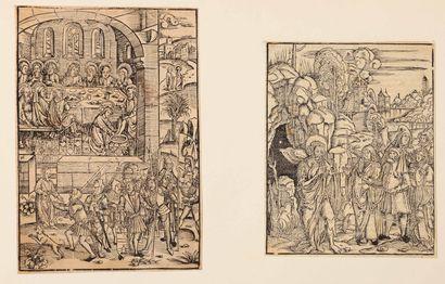 ANONYME  Illustrations pour la Bible et autres...