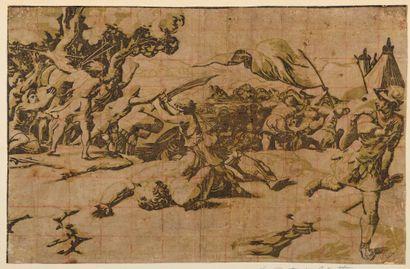 Ugo CARPI DA (1450/80-1532)  David coupant...
