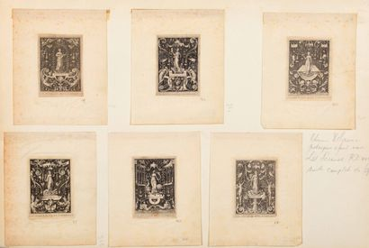 Etienne DELAUNE (1518/19 - 1595)  Scènes...