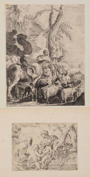 Sébastien BOURDON (1616-1671)  Liberare Captivos,...