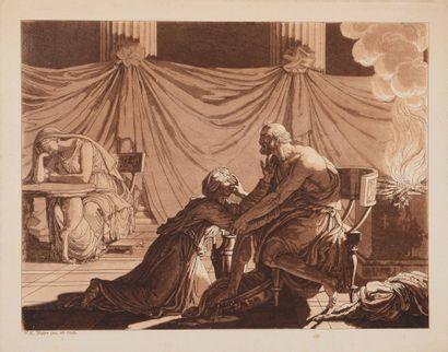 François Xavier FABRE (1766 - 1837)  Alaméon...