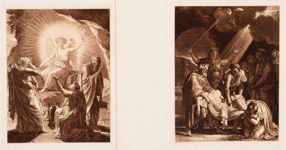 François Xavier FABRE (1766 - 1837)  Apparition...