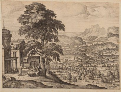 Peter Van der BORCHT (1600 – 1633)  Abraham...