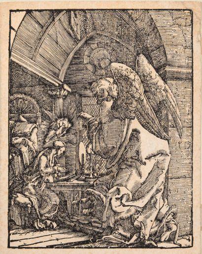 Albrecht ALTDORFER (1480 – 1538)  L'Annonciation....