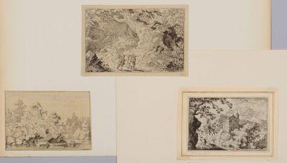Allaert VAN EVERDINGEN (1621 - 1675)  Forêt...