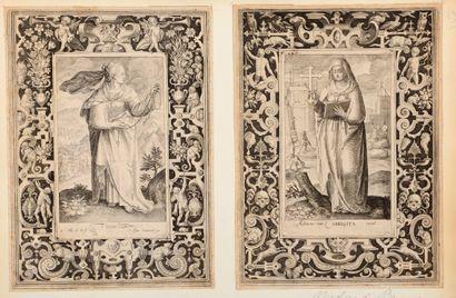 Nicolaes de BRUYN (1571 – 1656)  Saintes,...