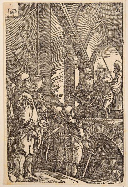 Hans Sebald BEHAM (1500-1550)  Pilate présentant...