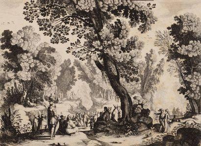 Nicolas I COCHIN(1610- 1686)  La Prédication...
