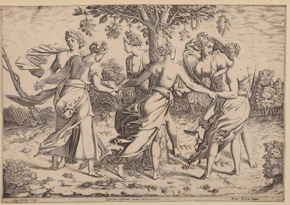 BOYVIN ou Pierre MILAN (1530 - 1557)  Danse...