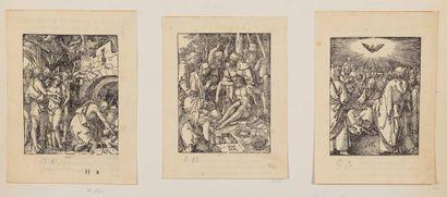 Albrecht DURER (1471 - 1528)  La Petite Passion...