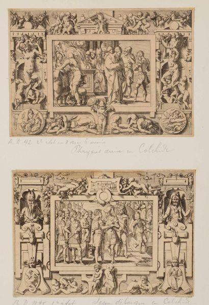 René BOYVIN (1525-1580/98)  Histoire de Jason...