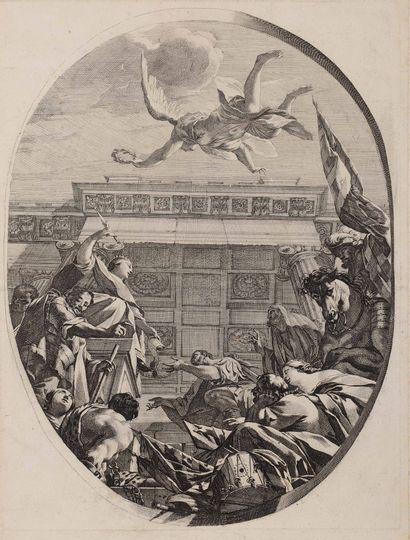 Michel DORIGNY (1617 - 1665)  Le Soleil (sujet...