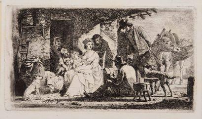 Jean – Louis DEMARNE (1752-54/1829)  Scène...