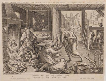 Adrien COLLAERT (1560 – 1618) Ecole FLAMANDE...