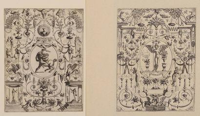 Vredeman de VRIES (1527-1606) Quatre planches...