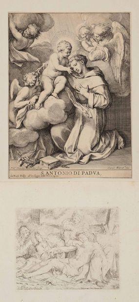 Annibal CARRACCI et d'après  Piéta ou le...