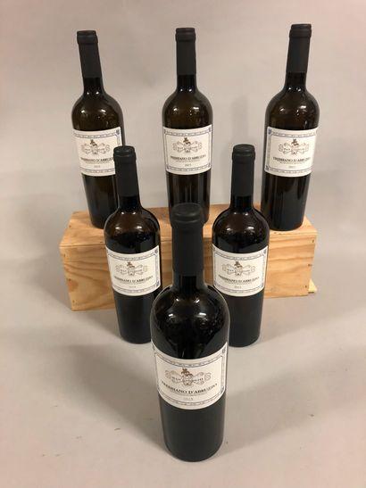 6 bouteilles TREBBIANO D'ABRUZZO Cantine...