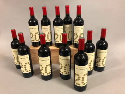 12 bouteilles TERRASSES DU LARZAC,