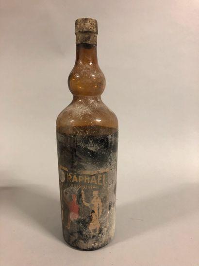 1 bouteille VIN APERITIF St. Raphaël (étiquette...