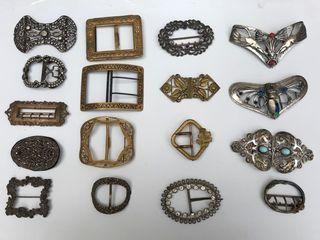 Collection de boucles de ceintures, boucles...