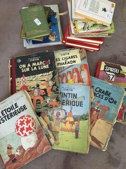Petit lot de livres enfants + Tintin très...