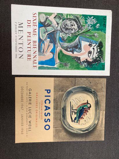 Pablo PICASSO (1881-1973)  - Affiche, lithographie...