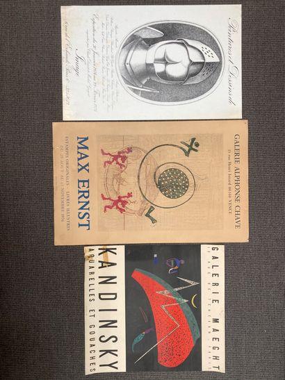 Max ERNST (1891-1976) Affiche lithographiée...