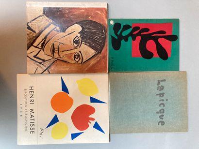 Lot de 4 catalogue d exposition :  - Les...