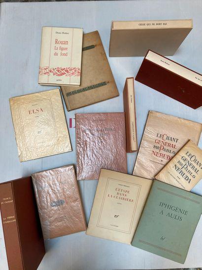 Lot de livres comprenant  Andre Bonnard,...