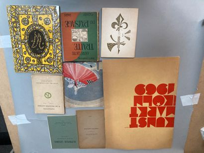 Lot comprenant :  - Catalogue de l exposition...