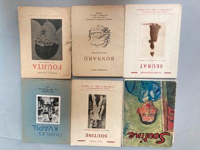 Lot de 6 volumes in-12 brochés :  - Michel-G...
