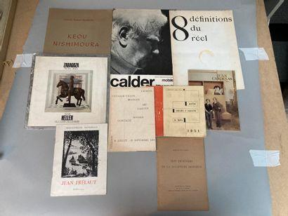 Lot de 8 volumes :  - 8 définitions du réel...
