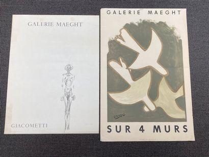 Georges BRAQUE (1882-1963) Affiche lithographiée...