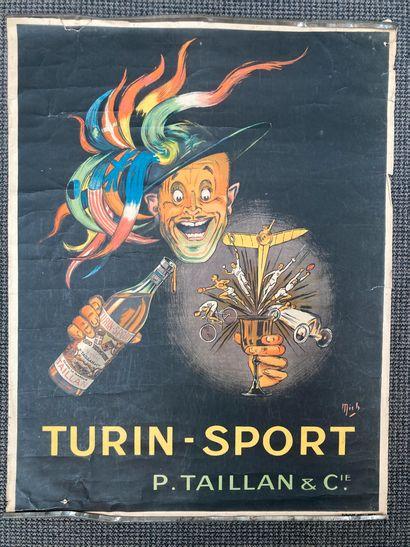 Par MICH affiche « Turin-sport » pour la...