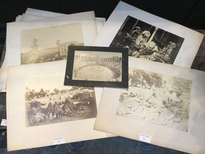 Lot de photographies (environ 12) dont Musée...