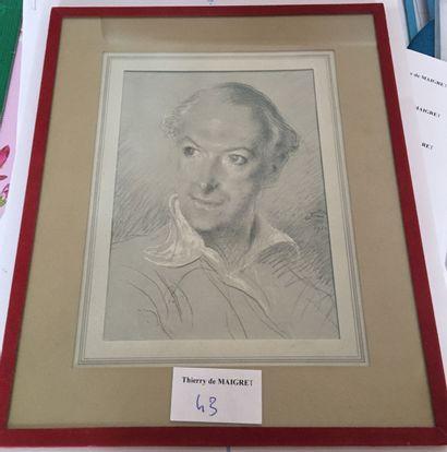 Deux encadrés : Ecole XXème, John-Portrait...