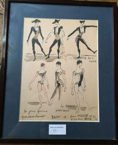 D'après Yves Saint Laurent, Le Ballet de...