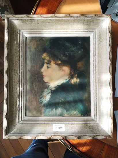 Deux reproductions encadrée d'après Renoir...