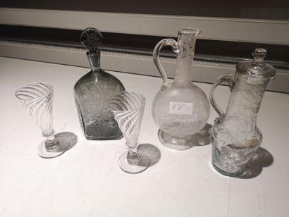 Ensemble de verres : paire de verre tulipe...