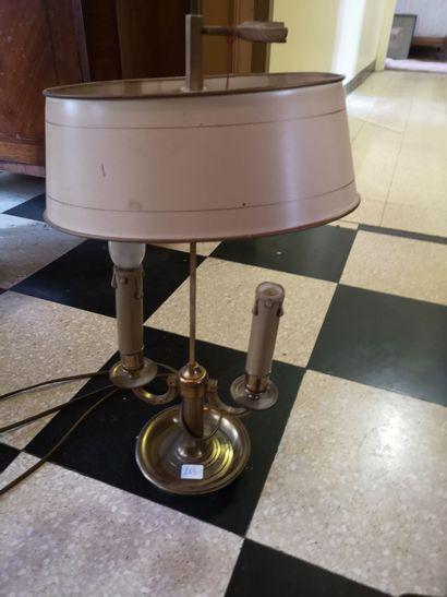 Lampe bouillotte de style Empire.    JOINT...