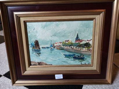 HERBO XXème siècle    Vue du port de Saint...