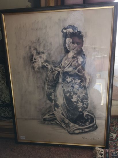 DEMEURISSE Geisha Impression Dim.: 63x45...