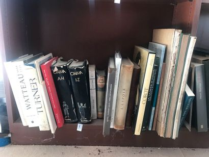 Lot de volumes de beaux-arts et divers....