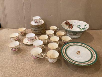 Lot de céramiques diverses dont partie de...