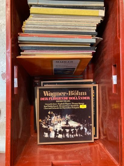 Lot de disques dont classiques  Lot vendu...