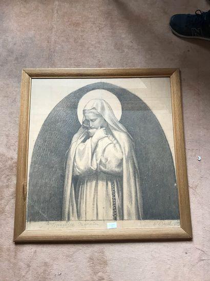 Paul BOREL 1879  Sainte Françoise Romaine...