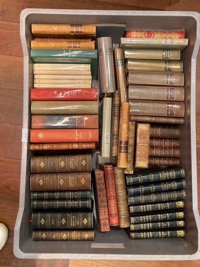 3 MANETTES Lot de volumes XIXème siècle...