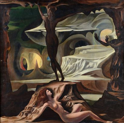 Marcel JEAN (1900 - 1994) - Création, 1945...