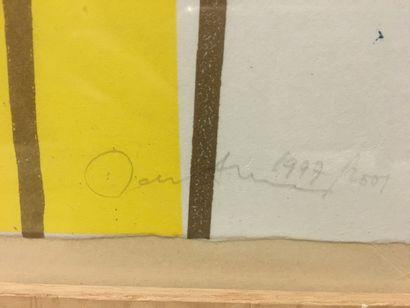 John Andrew PERELLO dit JONONE attribué à (né en 1963) - Sans titre. - Lithographie...